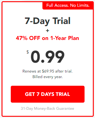 PureVPN 7-day trial