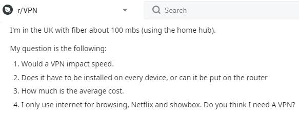 Reddit Do I need a VPN