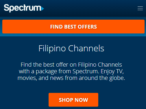 Filipino Channels Spectrum